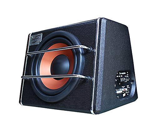 LIDAUTO Auto Subwoofer Lautsprecher Audio Woofe Trapezoid 8 Zoll Hochleistungsverstärker Super Bass 12 V 24 V 600 Watt,24V