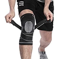 Berter Kniebandage, verstellbare Gurte, Knieschoner für Schmerzlinderung, Arthritis, Risse, Bandverletzung, Basketball... preisvergleich bei billige-tabletten.eu