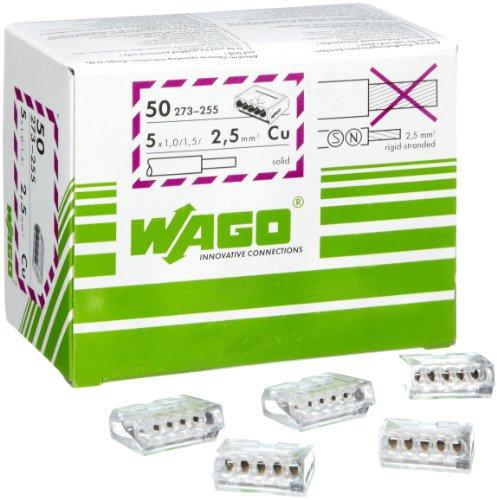 """Preisvergleich Produktbild WAGO 47267 """"Wago"""" Dosenklemme 1.02 - 2.5 mm²"""