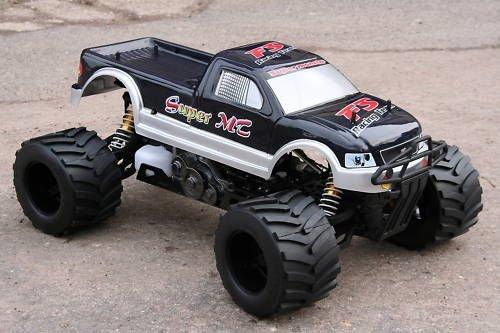 RC Monstertruck kaufen Monstertruck Bild 1: RC MEGA MONSTER TRUCK 1:4 4X4 RTR 35ccm 4PS 80Km/h VERBRENNER 1:5 NEUHEIT*