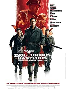 Inglourious Basterds Plakat Movie Poster (27 x 40 Inches - 69cm x 102cm) (2009) German B