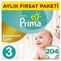 Prima Bebek Bezi Premium Care 3 Beden Midi, Beyaz