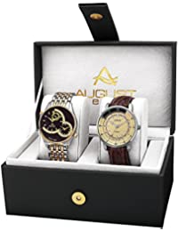 August Steiner Set de 2 relojes Women'S Watch Gift Set