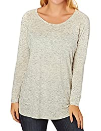 O'Neill Tops - O'Neill Revive Long Sleeved Top - Silver White