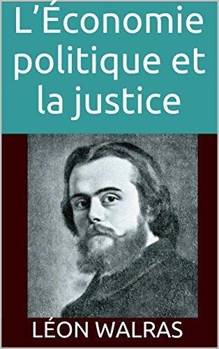 leconomie-politique-et-la-justice-french-edition