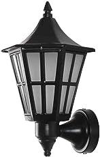 Superscape Outdoor Lighting Mild Steel Exterior Wall Light (Black, 60 W)