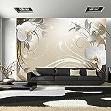 murando - Fototapete 350x245 cm - Vlies Tapete - Moderne Wanddeko - Design Tapete - Wandtapete - Wand Dekoration - Blumen Orchidee b-A-0060-a-d