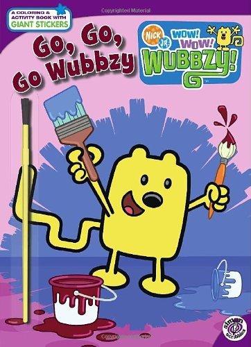 Go, Go, Go, Wubbzy! (Nick Jr. Wow! Wow! Wubbzy!) by Tina Gallo (2009-06-23)