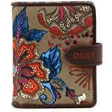 Oilily Sea of Flowers S Flap Wallet - Bronze