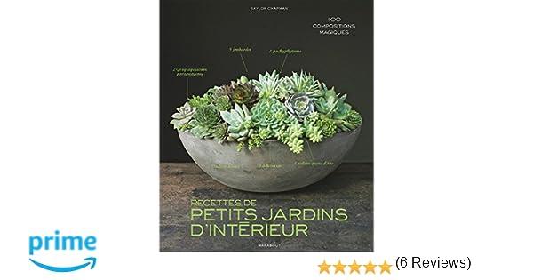 AmazonFr  Recettes De Petits Jardins DIntrieur  Baylor Chapman