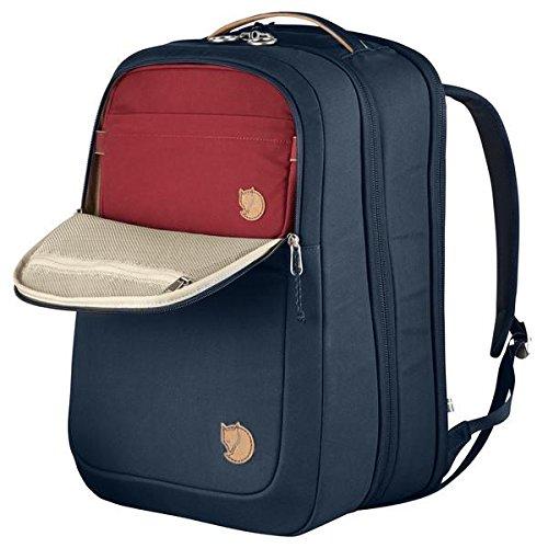 FJÄLLRÄVEN Travel Pack Rucksack, Navy, 46 x 32 x 27 cm, 35 L