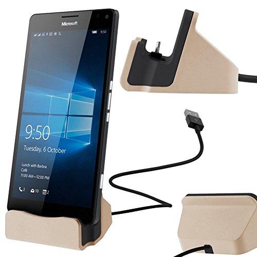 Theoutlettablet® Dock Cargador/Sincronización para Smartphone BLUBOO Maya MAX con conexión Type-C - Charger