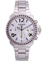 Lancaster 0633MBZSSBNVL - Reloj de Señora Cuarzo Plata