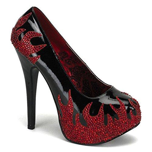 Heels-Perfect , Escarpins pour femme Multicolore Multicolore Rouge - Rouge