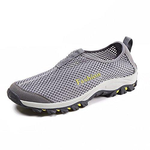 Chaussures de sport pour hommes/Chaussures hommes casual de dérapage/Chaussures hommes mesh/Chaussures de randonnée E