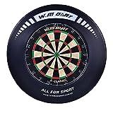 Dart Catchring Surround Auffangring Dart Backboard Auffangring Rund Dart Surround Schwarz