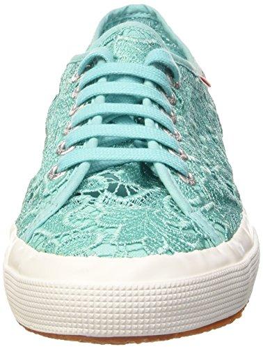 Superga 2750 MACRAMEW Unisex-Erwachsene Sneakers Turchese (969 Aquamarine)