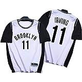 ZHYIYI Proceso De Prensado En Caliente para Camisetas De Baloncesto para Adultos Camisa De Manga Corta Falsa De Dos Piezas Ro