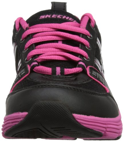 Skechers 99999795 Bkw, Baskets mode femme Noir - Schwarz (BKHP)