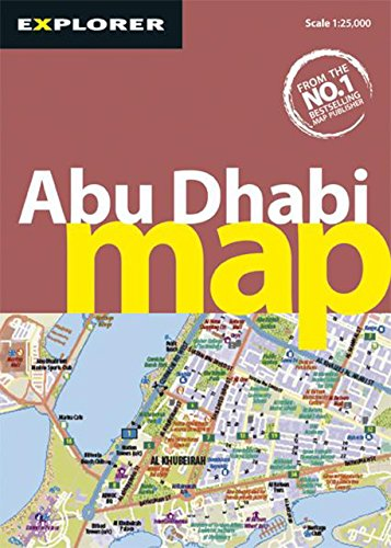Abu Dhabi Map: Auh_map_3 (City Map) por Explorer Publishing and Distribution