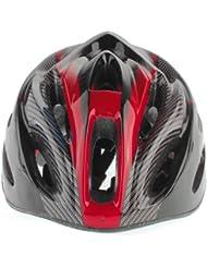 Casco Ciclismo Bici Bicicleta Carretera Visera Rojo Helmet