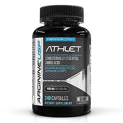 Athlet L-Arginine 500 mg 240 Caps by Athlet