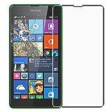 ebestStar - pour Microsoft Nokia Lumia 535 - Film protection écran en VERRE Trempé - Vitre protecteur anti casse, anti-rayure [Dimensions PRECISES de votre appareil : 140.2 x 72.4 x 8.8 mm, écran 5'']