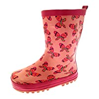 Lora Dora Girls Novelty Rubber Wellington Boots Wellies