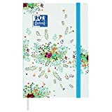 Oxford Flowers Agenda Scolaire Journalier 2018-2019 1 jour par page 352 pages 12 x 18...