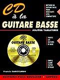 Partition : CD a la guitare basse F. Darizcuren