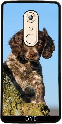 Hülle für ZTE Axon 7 Mini - Niedlich Deutsch Spaniel Hundewelpe by Katho Menden