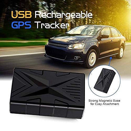 QearFun Vehículo Impermeable Rastreador GPS Dispositivo de rastreo magnético Fuerte Localizador de...