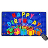 Best iXCC gaming mousepad - Mouse Pad Rectangle Rubber Non-Slip Mousepad Birthday Gift Review