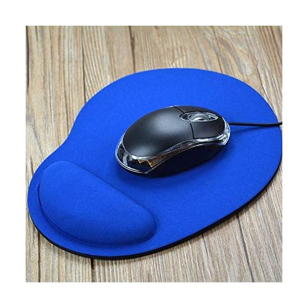 RoadRoma Alfombrilla de ratón ergonómica con Soporte para muñeca Alfombrilla de ratón EVA Suave para computadora de… 1
