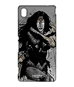 Sketched Wonder Woman - Case For Sony Xperia M4