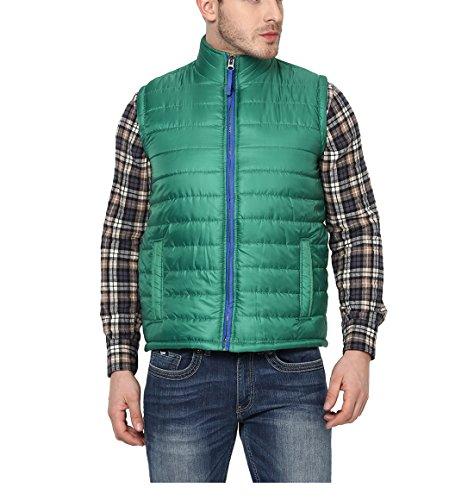 Yepme Julius Sleeveless Jacket - Green_YPMJACKT0194_M