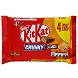 #10: Kitkat Chunky Orange 4 Chocolate Bar, (4 X 32g), 128g