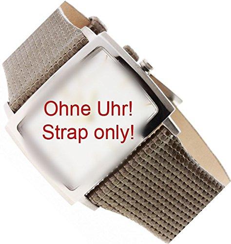 Boccia Original Lederband Armband für Uhr Modell 3203-02
