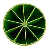 sunshineBoby 1PC DIY Lemon Modell Eismaschine 10 ungiftig Eisbox, Silikon Eiswuerfel Form Eiswuerfelbehaelter Mit Deckel Ice Tray Ice Cube, Kühl Aufbewahren (Grün)