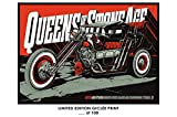 Giclee Art Prints 12' x 18' Wall Poster Queens of The Stone Age Mondo - Limited Edition