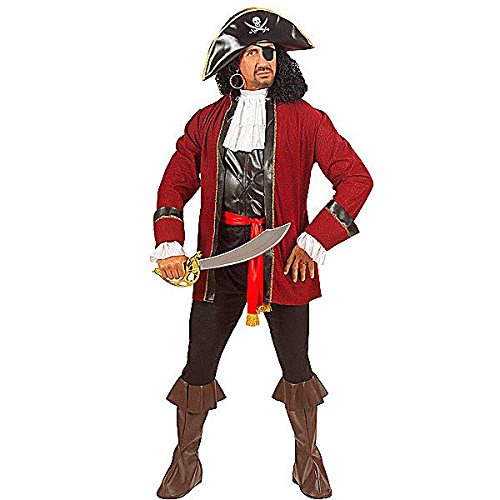 BOOTY ISLAND PIRATE FANCY DRESS COSTUME MENS small