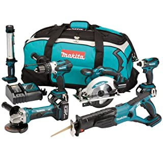 Makita DK18027 18V LXT Cordless Lithium-Ion Kit with Batteries (Pack of 6) (B009RK36LE) | Amazon price tracker / tracking, Amazon price history charts, Amazon price watches, Amazon price drop alerts