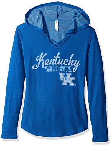 Blue 84 NCAA Kentucky Wildcats Damen Kenzie Premium Frottee Kapuzenshirt Gr. S Königsblau