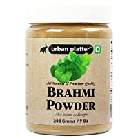 Urban Platter Brahmi Powder, 200g / 7oz [All Natural, Premium Quality, Bacopa]