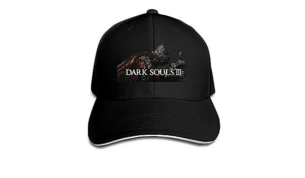 Hittings Dark Souls 3 Sandwich Peaked Hat//Cap Black