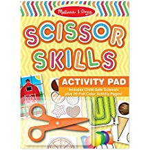 Melissa & Doug Scissor Skills Activity Pad, Multi Color