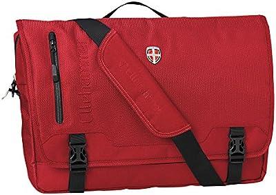 Elle Martillo Laptop Bolsa Messenger Bag Red