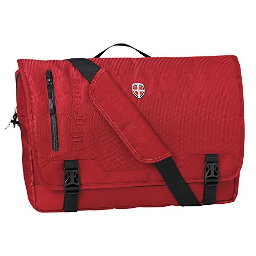 Elle martello Laptop Borsa Messenger Bag Red
