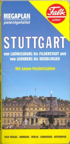 Falkplan Stuttgart Megaplan (Stadtplan)