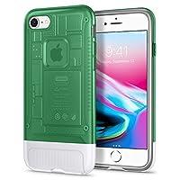 Spigen Classic C1 Serisi Kılıf iPhone 7/8 ile Uyumlu / (iPhone 10.Yıla Özel Tasarım Kılıf) - Sage